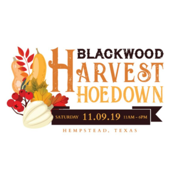 2019 Blackwood Harvest Hoedown